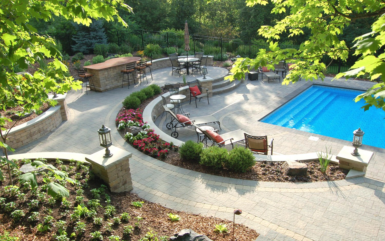 HOW TO GET THE RIGHT BALANCE OF HARDSCAPE AND SOFTSCAPE ... on Hardscape Backyard id=98345